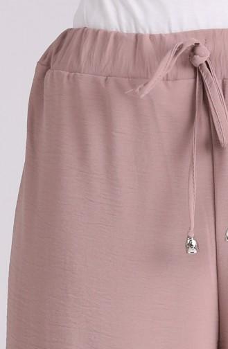 Aerobin Fabric wide-leg walking Pants 2000-04 Mink 2000-04