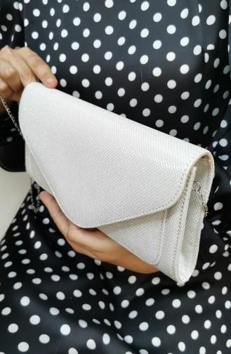 Nacre Portfolio Hand Bag 407111-202