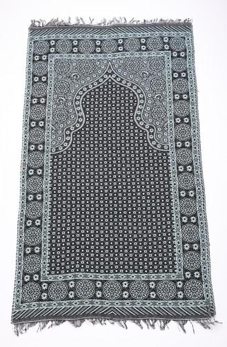Black Praying Carpet 90619-09