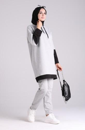 Gray Sweatsuit 20034-01