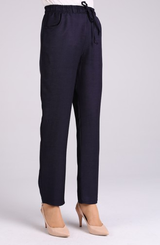 Pantalon Bleu Marine 4114PNT-01