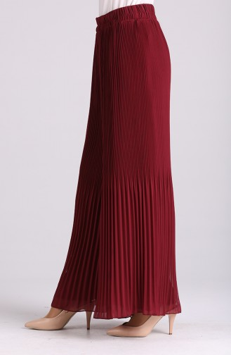 Claret red Broek 4000A-04