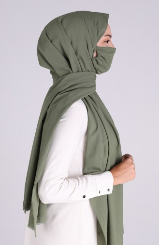 Sefamerve Masked Shawl 1000-12 Light Green 1000-12