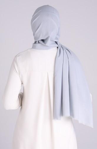 Sefamerve Maskeli Şal 1000-13 Gümüş Gri