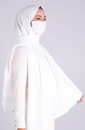 شال أبيض 1000-14