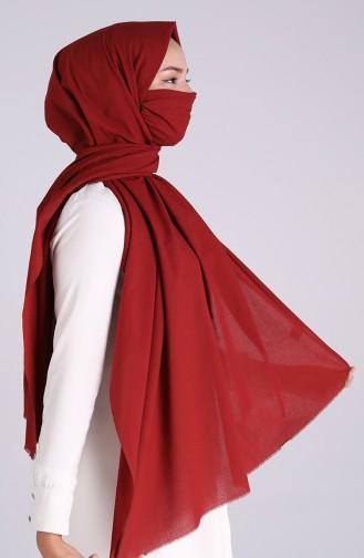 شال أحمر كلاريت 1000-24