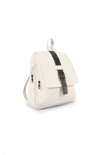 Stilgo Bayan Sırt Çantası JR31Z-02 Beyaz