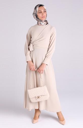 Robe Hijab Beige 0056-06