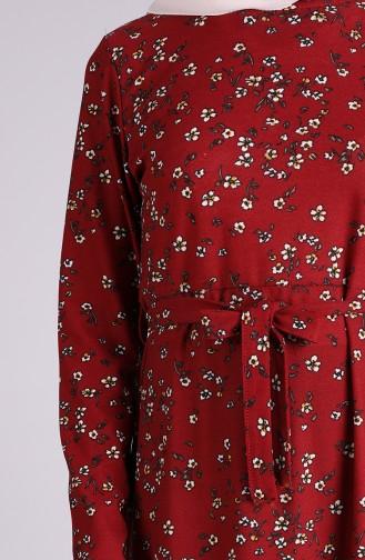 Robe Hijab Tabac 5708P-05