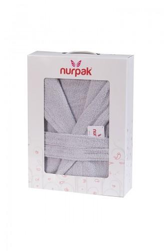 Gray Handdoek en Badjas set 000500-02