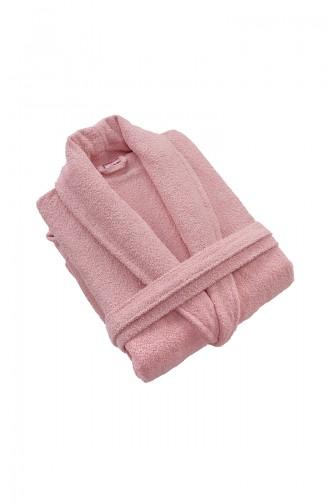 Dusty Rose Handdoek en Badjas set 000500-04