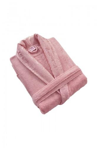 Dusty Rose Handdoek en Badjas set 000556-02