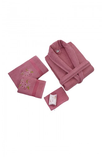 Damson Towel and Bathrobe Set 000570-08