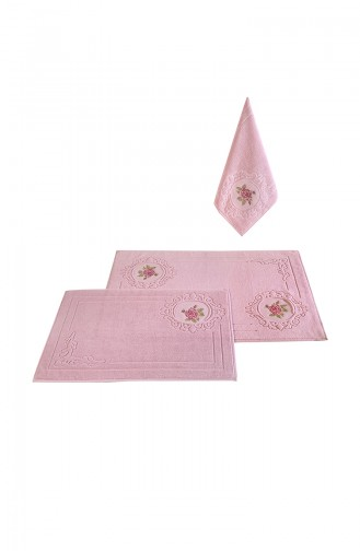 Dusty Rose Towel 000762-01