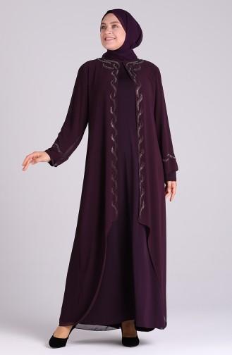 Habillé Hijab Plum 4579-02