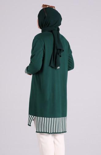 Tunique Vert emeraude 1100-02