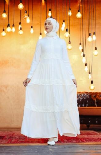 فستان أبيض 8259-02