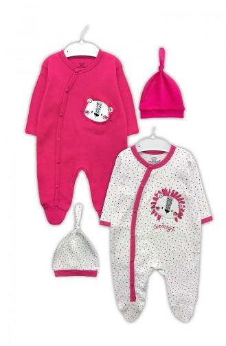 Pink Baby Overalls 0313