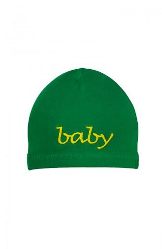 Green Hat and bandana models 0361