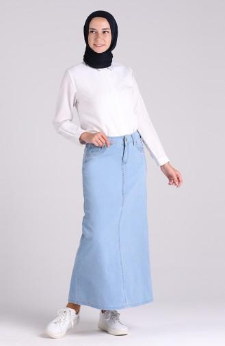 Jeans Blue Skirt 32108-01