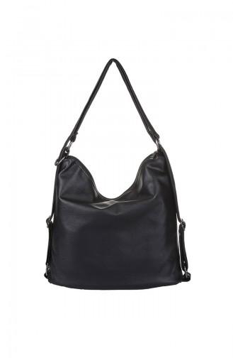 Black Shoulder Bag 409-001