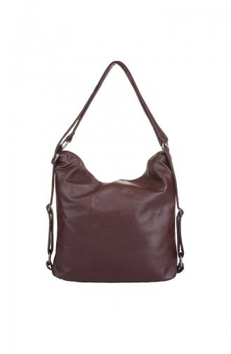 Claret red Shoulder Bag 409-031