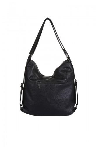 Black Shoulder Bag 411-001