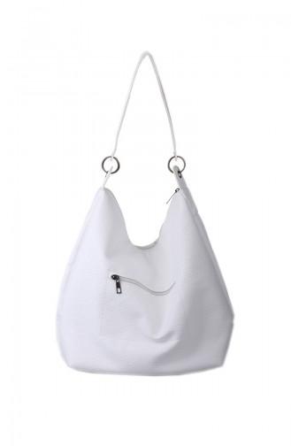 Weiß Schultertasche 414-105