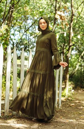 Robe Hijab Khaki 8263-05