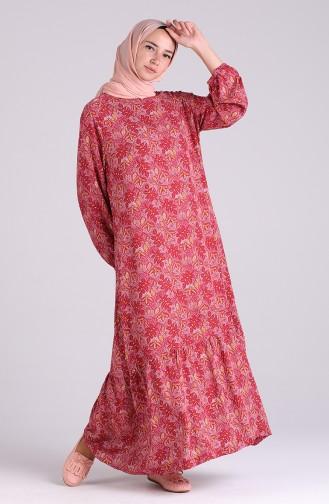 Robe Hijab Plum 5322-01