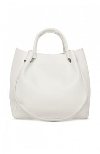 حقيبة كتف أبيض 87001900036910