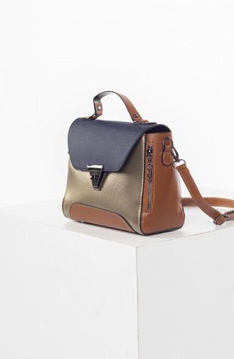 Navy Blue Shoulder Bag 3021-0402