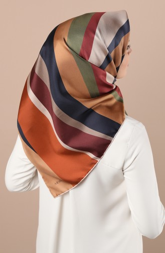 Tobacco Brown Scarf 8301D-03
