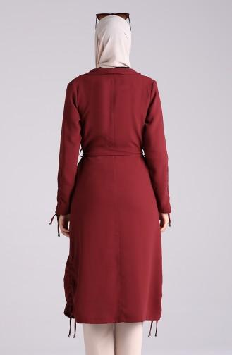 Dark Claret Red Mantel 4013-01