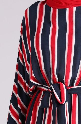 فستان أزرق كحلي 1209-01