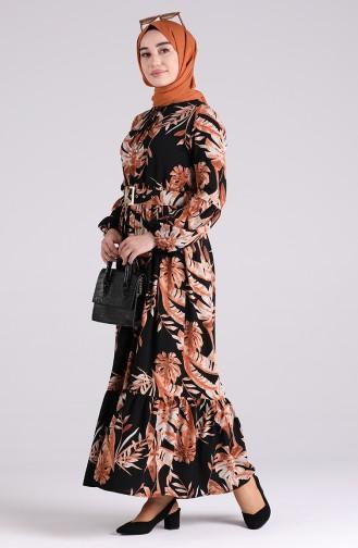 Robe Hijab Noir 4550-01