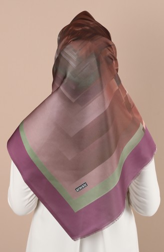 Purple Scarf 2021-01