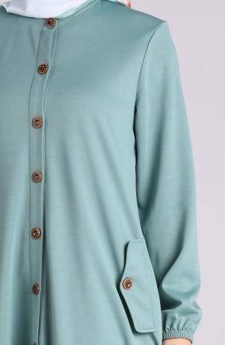 Green Abaya 2085-08
