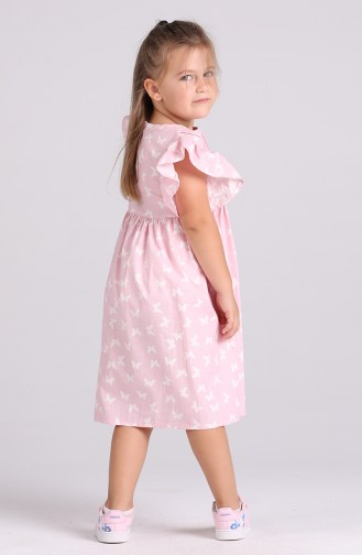 Robe Enfant Rose 4602-03