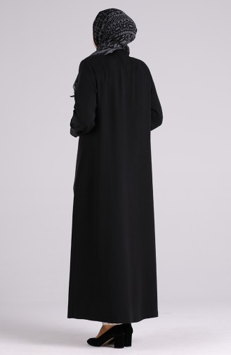 Schwarz Abayas 0368-04
