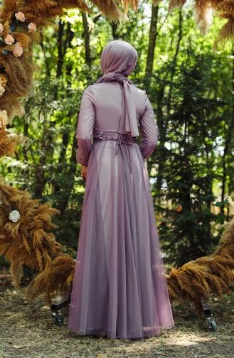 Habillé Hijab Lila 1035-01