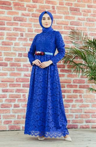 Habillé Hijab Blue roi 7596-03
