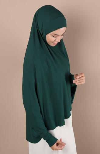 Châle Vert emeraude 0043-03