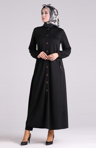Black Abaya 2085-03