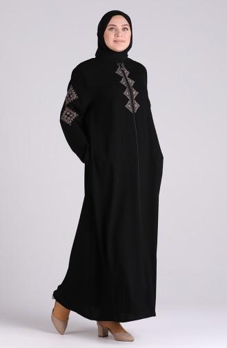 عباءه أسود 0007-03