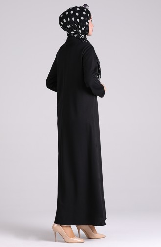 Schwarz Abayas 5159-04