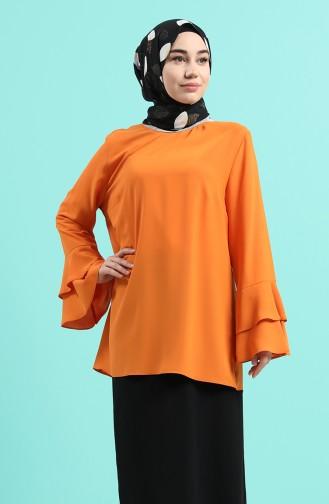 Blouse Orange 2012A-05