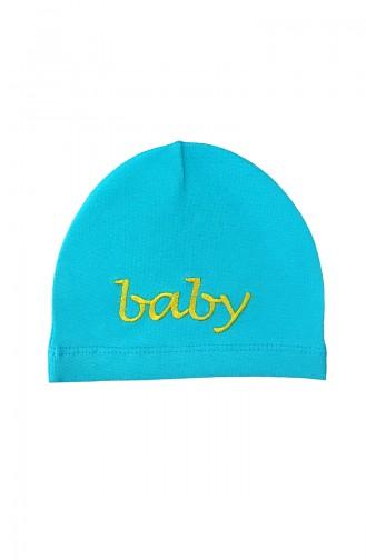Blue Hat and bandana models 0365