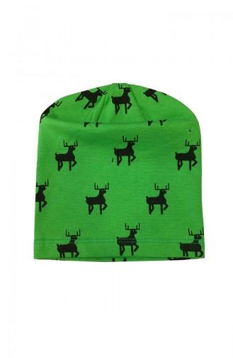 Green Hat and bandana models 0528
