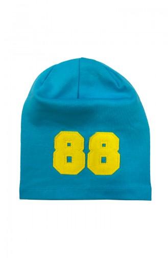 Blue Hat and bandana models 0821